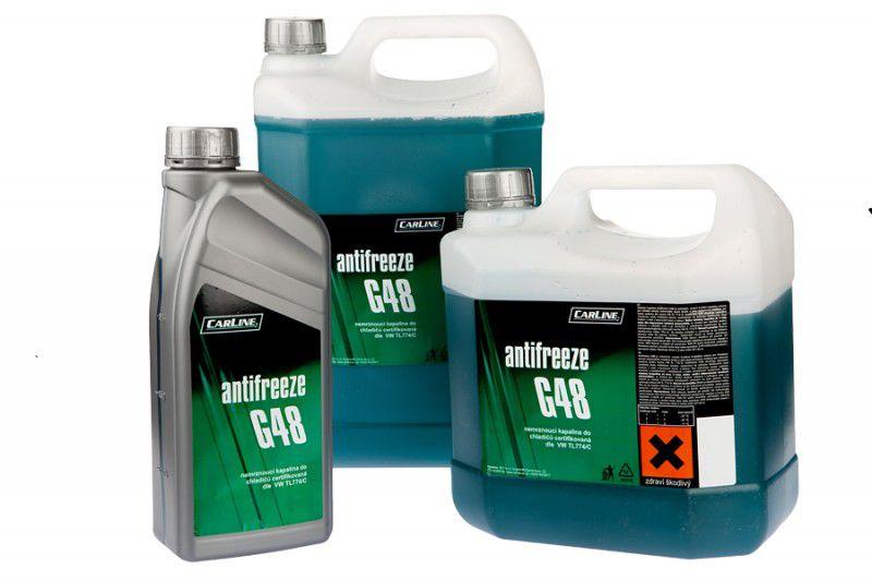 Nemrznoucí směs do chladiče Antifreeze G48 25L