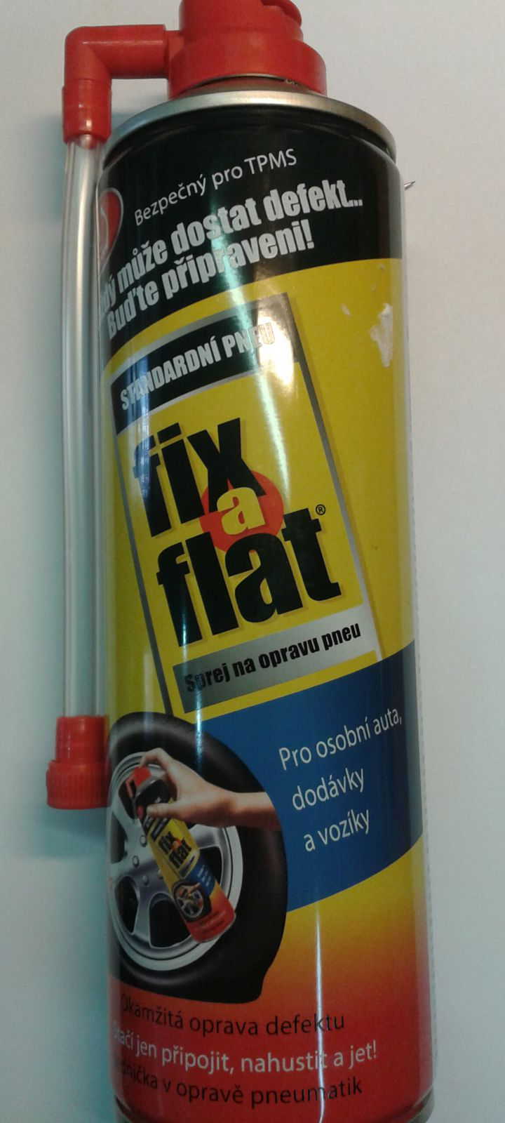 FIX A FLAT – defekt opravný sprej 0,5L Slime