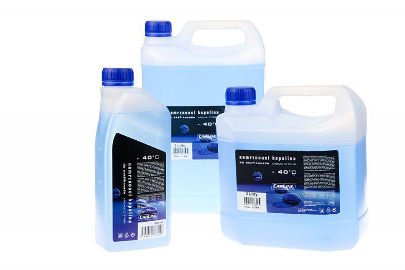 Nemrznoucí směs kapalina do ostřikovačů -40°C CARLINE 5 litrů