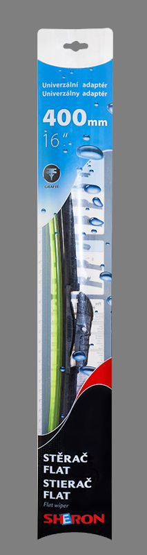 Stěrač Sheron FLAT 400 mm 1ks