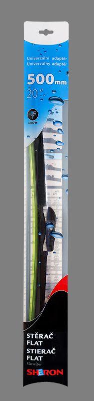 Stěrač Sheron FLAT 500 mm 1ks