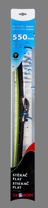 Stěrač Sheron FLAT 550 mm 1ks