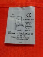 Vesta reflexní oranžová XL splňující normu EN ISO 20471:2013