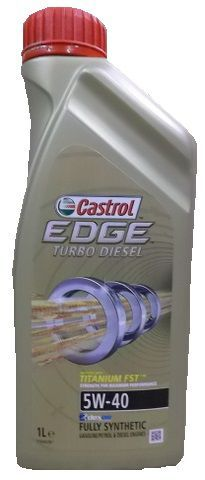 CASTROL EDGE TURBO DIESEL 5W-40 TITANIUM FST 1 L