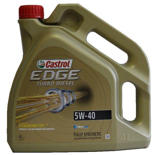 CASTROL EDGE TURBO DIESEL 5W-40 TITANIUM FST 4 L