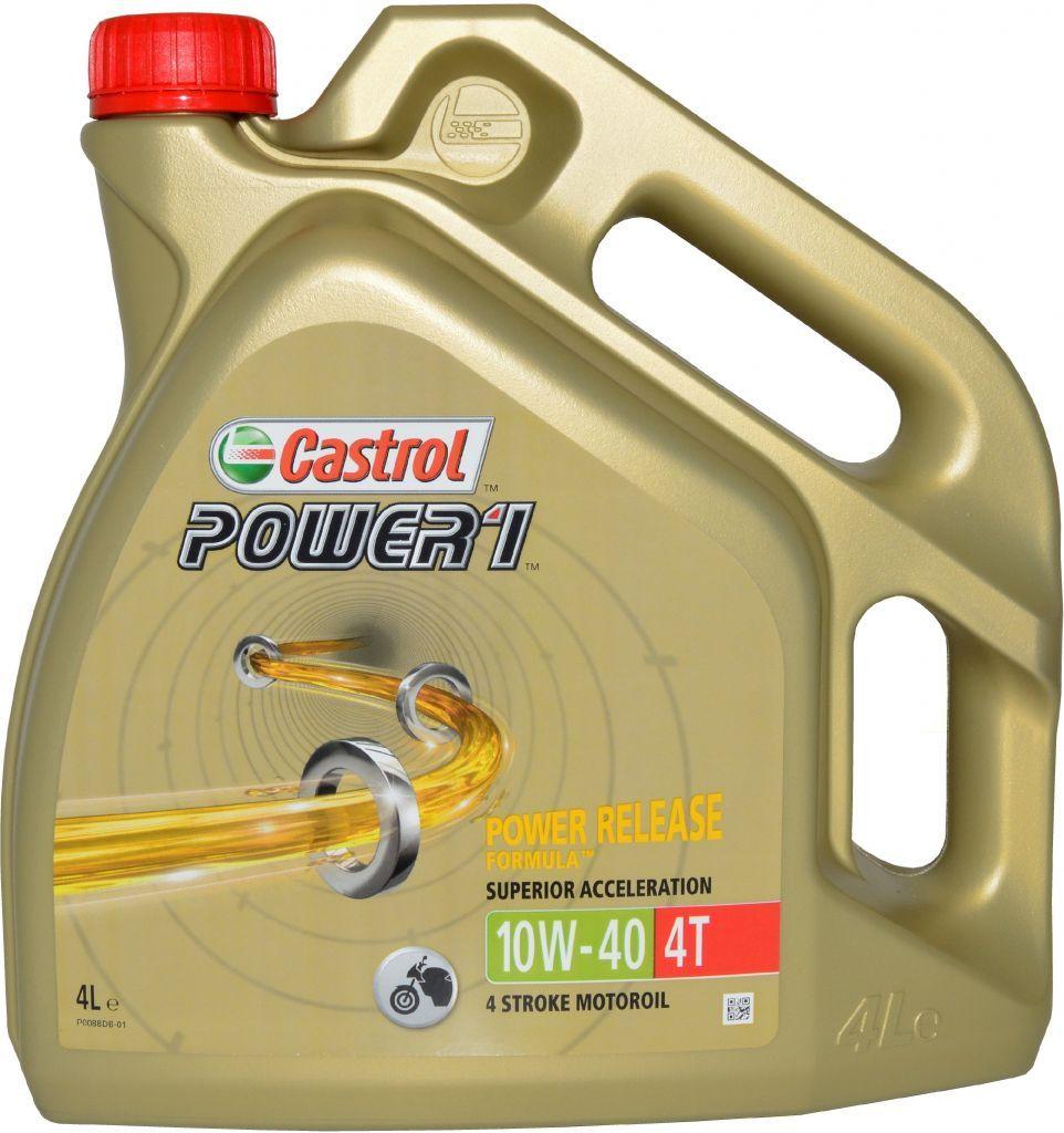 CASTROL POWER 1 4T 10W-40 4 L