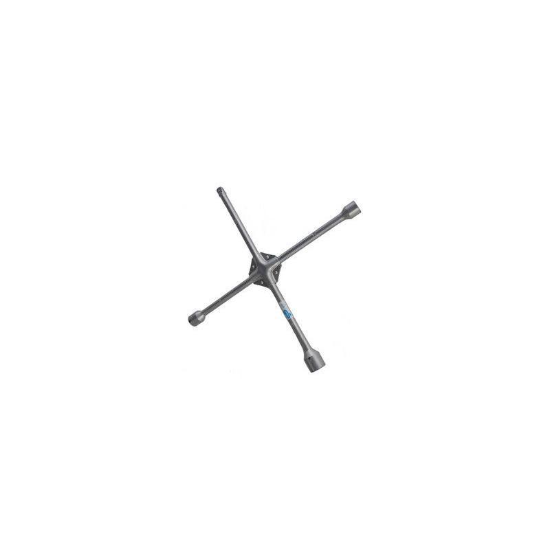 Klíč na kola křížový zesílený 17, 19, 21 mm + 1/2 gola