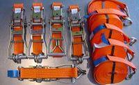 Upínací popruh s ráčnou a háky 8 m 3000 kg