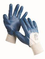 Pracovní rukavice  NITRIL HARRIER - vel. 10 Máčené