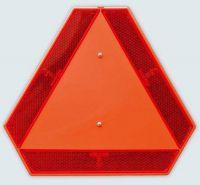 Výstražný trojuhelník na traktor
