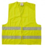 Vesta reflexní žlutá XXL splňující normu EN ISO 20471:2013 /Minimální odběr 200ks/