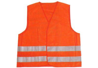 Vesta reflexní oranžová XL splňující normu EN ISO 20471:2013 /Minimální odběr 200ks/