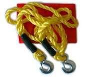 Tážné lano 5000Kg s karabinou